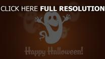 fantôme geste inscription halloween