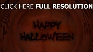 inscription halloween rouge arrière-plan