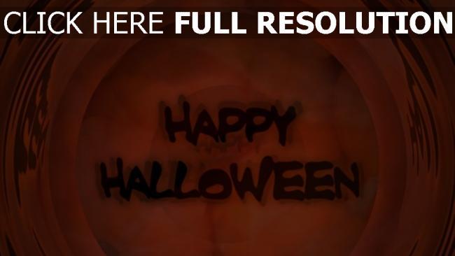 fond d'écran hd inscription halloween rouge arrière-plan