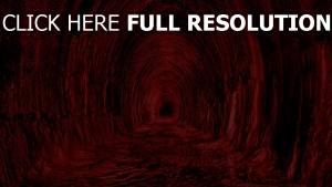 tunnel rouge terrible