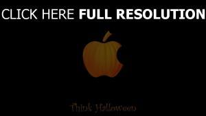 citrouille apple logo
