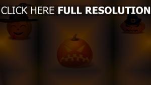 citrouille-lanterne chapeau illuminée