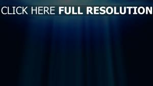 sous l'eau rayon océan