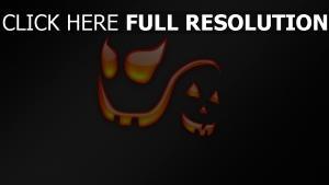 colère regard sourire fantôme