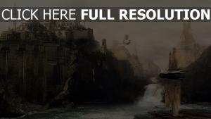 rock mosquée rivière château