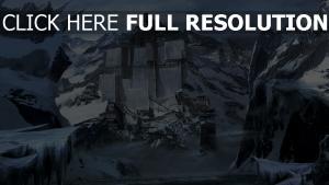 château grand montagne chine