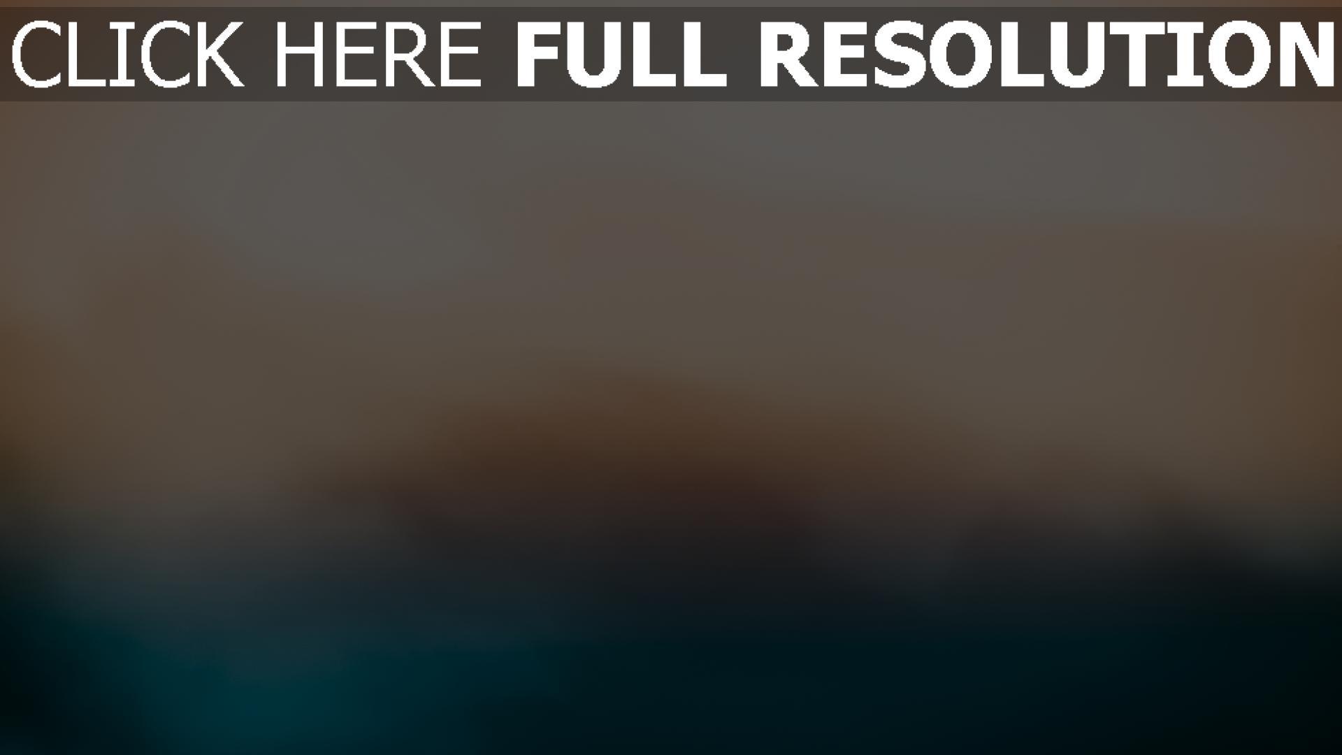 fond d'écran 1920x1080 fumée lumière turquoise