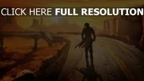 fallout autoroute solitaire desert