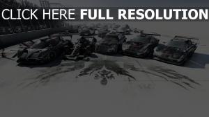 grid autosport voitures de sport
