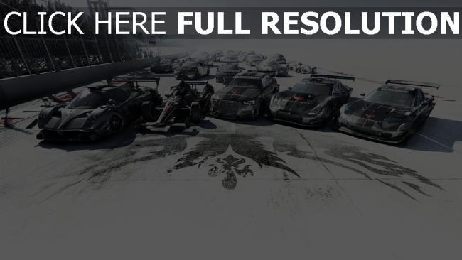 fond d'écran hd grid autosport voitures de sport
