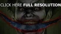 batman arkham asylum yeux verts joker
