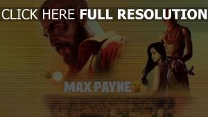 max payne 3 affiche