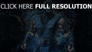 mortal kombat sub-zero ninja