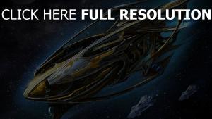 starcraft 2 vaisseau spatial protoss