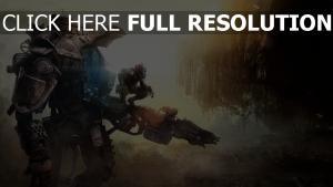titanfall robot pilote