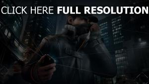watch dogs masque aiden pearce smartphone