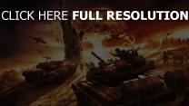 world in conflict statue de la liberté explosion nucléaire