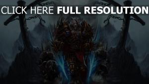 world of warcraft loup-garou vue de face