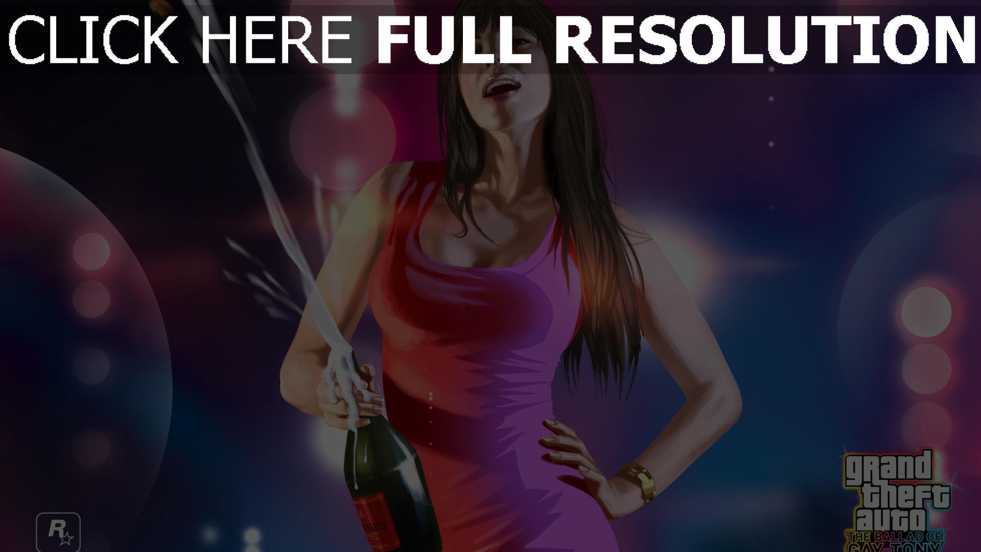 fond d'écran 1920x1080 gta 5 robe champagne