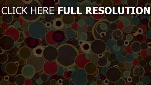 cercle multicolore fond