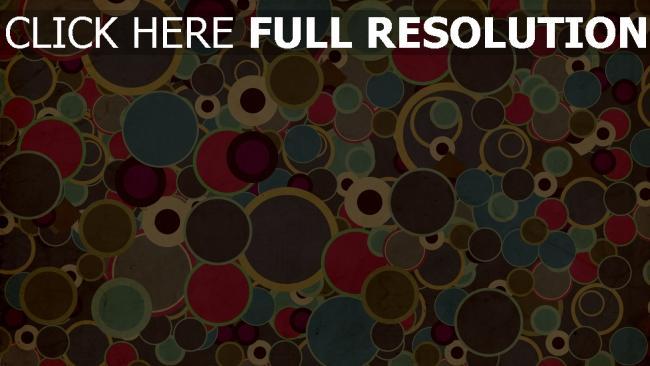 fond d'écran hd cercle multicolore fond