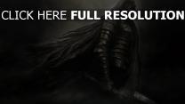 dark souls chevalier armure manteau