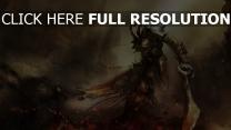 dark souls démon épée chaîne