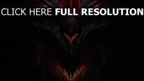 diablo 3 démon visage