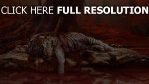 far cry 4 tigre épée automne