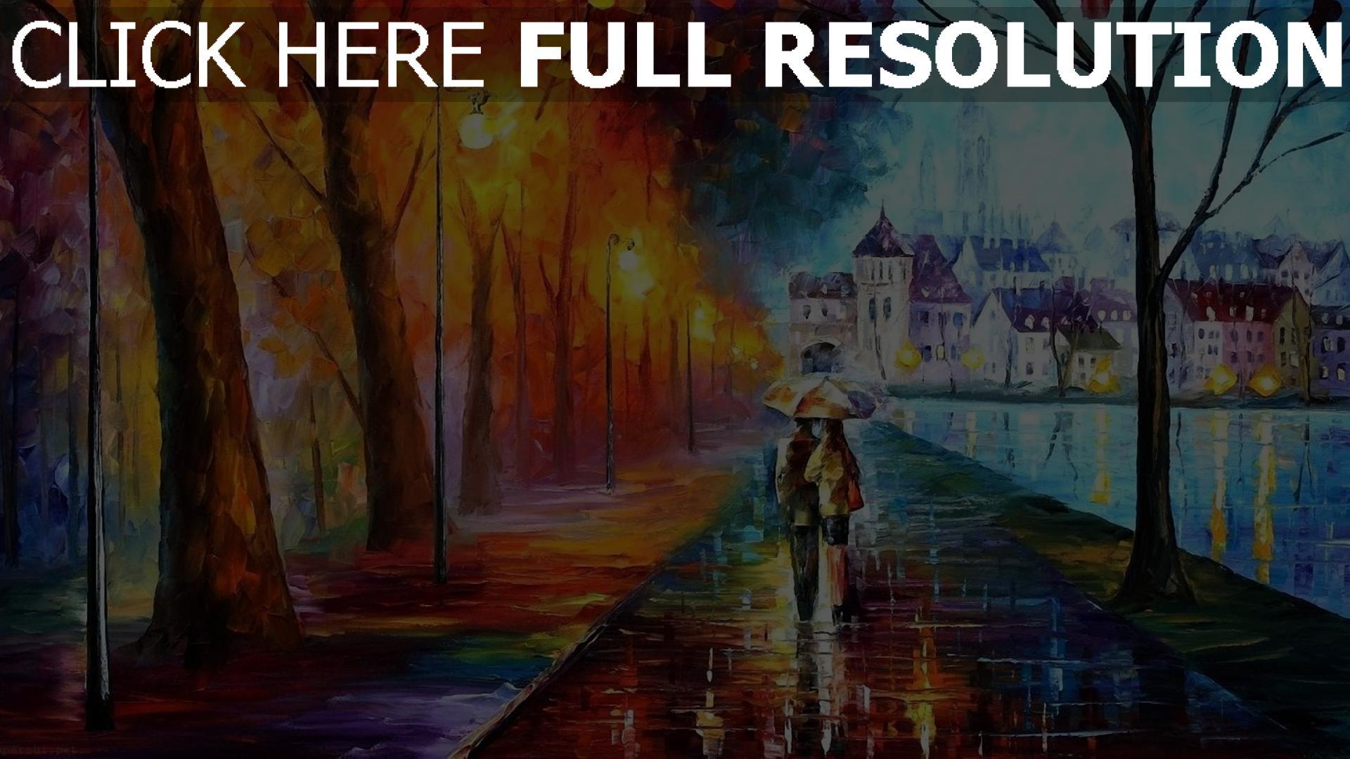 t l charger 1920x1080 full hd fond d 39 cran couple promenade parapluie romantique bonheur images. Black Bedroom Furniture Sets. Home Design Ideas