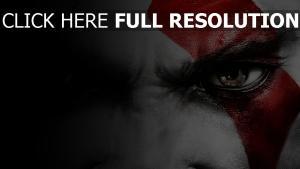 god of war regard gros plan kratos