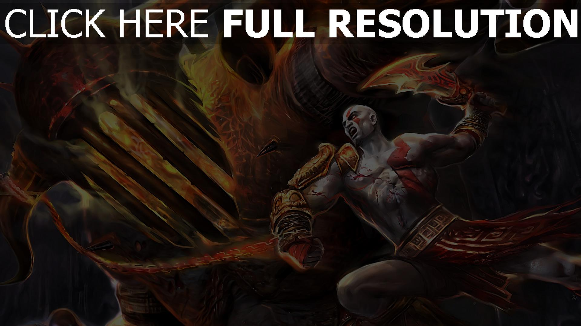 Fond Décran Hd God Of War Combat Titan Armure Images Et Photos