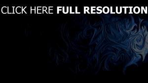 motif graffiti foncé bleu