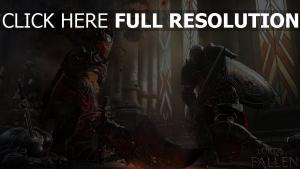 lords of the fallen combat chevalier démon