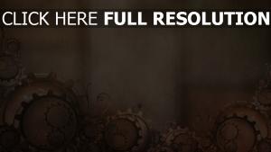 engrenage composition motif