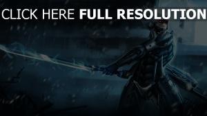 metal gear rising épée art raiden