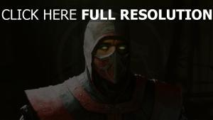 mortal kombat ermac ninja visage
