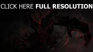 nevermore démon sort de magie