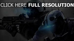 spec ops soldat visée laser casque