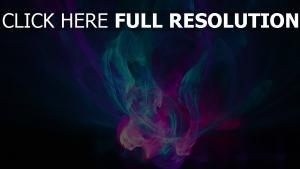 flamme fumée foncé multicolore
