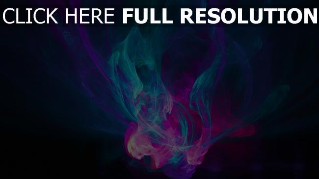 fond d'écran hd flamme fumée foncé multicolore
