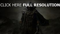 the elder scrolls online guerrier masque vue de face