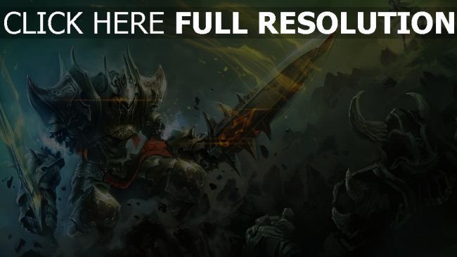 fond d'écran hd world of legend fantôme chevalier morts-vivants