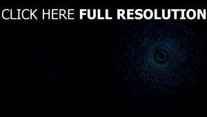 sphère foncé bleu plan