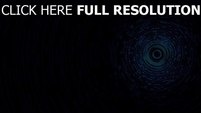 fond d'écran hd sphère foncé bleu plan
