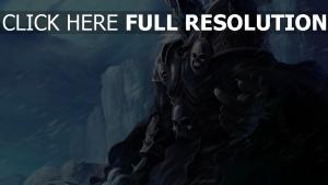 world of warcraft chevalier armure morts-vivants