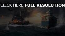 world of warships combat salve