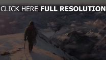 tomb raider vagabond montagne enneigé
