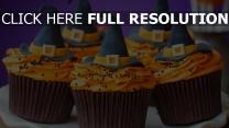 gâteau halloween chapeau sorcière