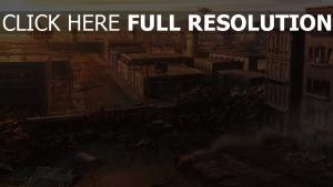 fallout new vegas ruines vue d'en haut